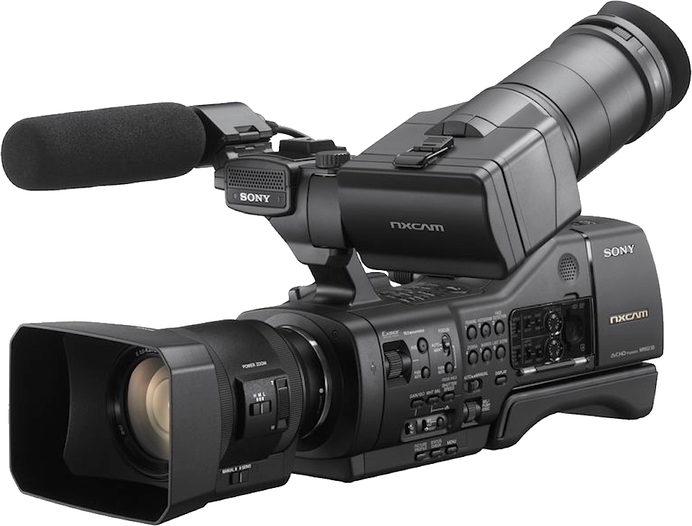 Video camera PNG image