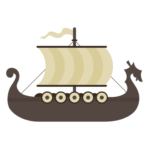 Viking ship PNG