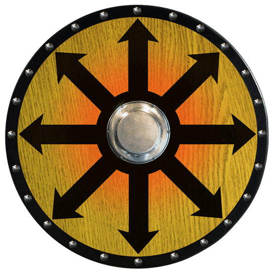 Viking shield PNG