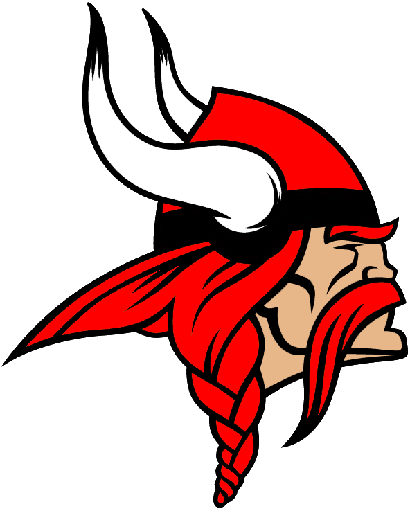 Viking logo head PNG