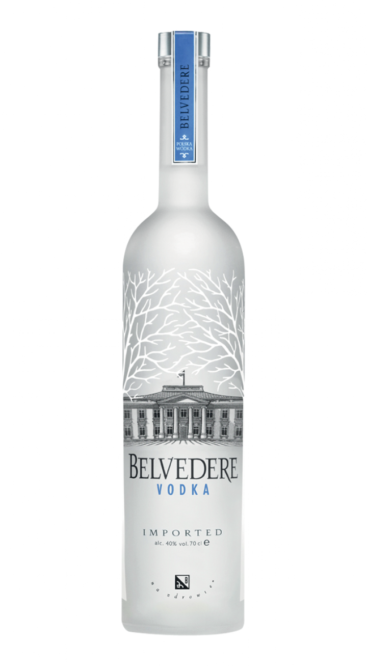 Vodka bottle PNG image
