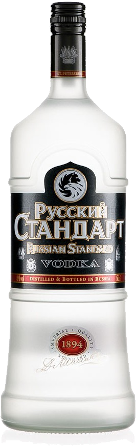 Russian vodka PNG image