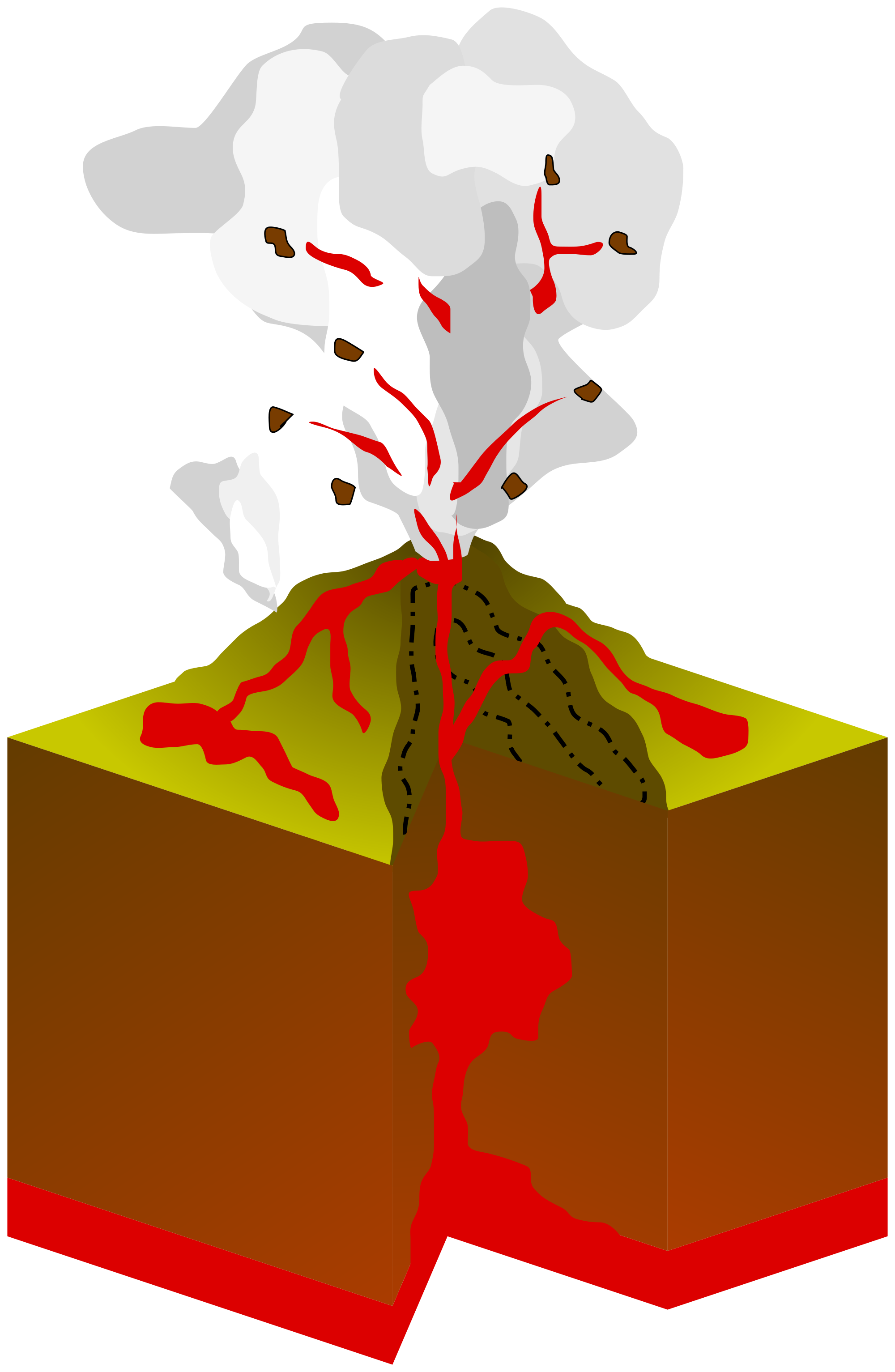 Volcano PNG