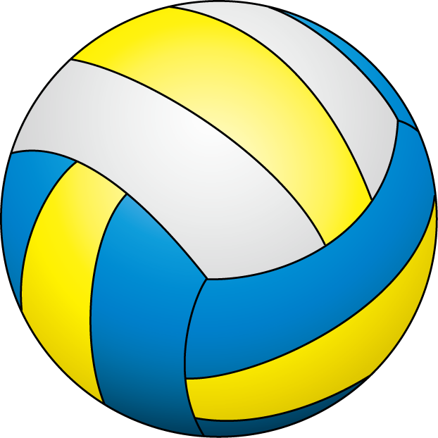Volleyball ball PNG