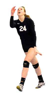 Volleyball girl PNG