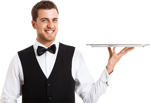 Waiter PNG
