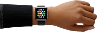 smart watches on hand PNG image