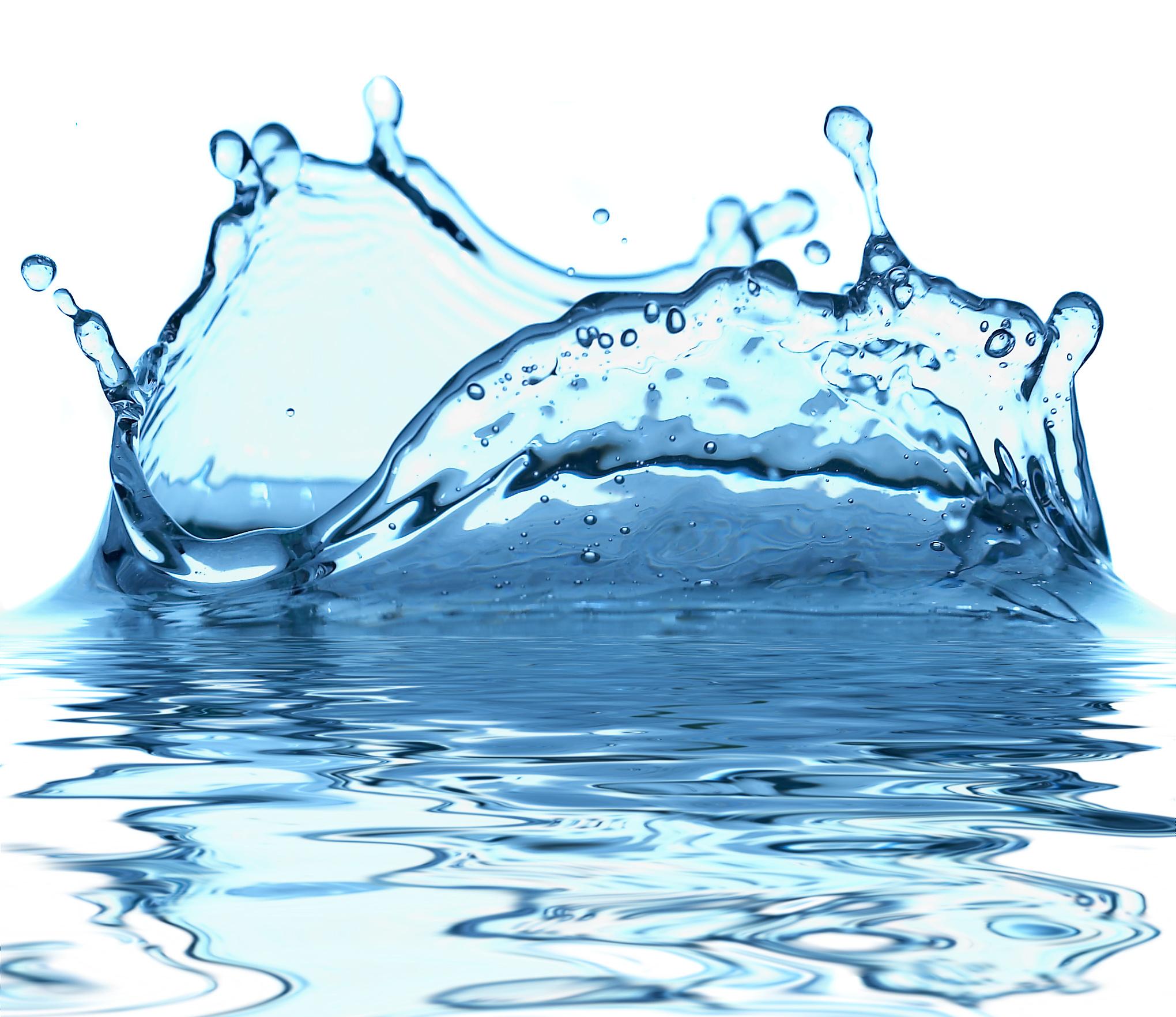 Water drops PNG image