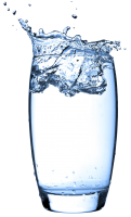 Water glass PNG