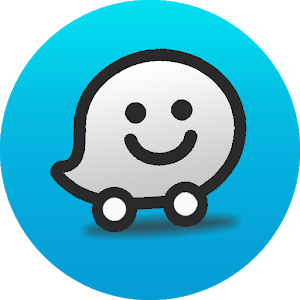Image result for waze logo transparent
