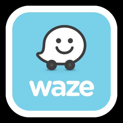 Image result for waze logo png