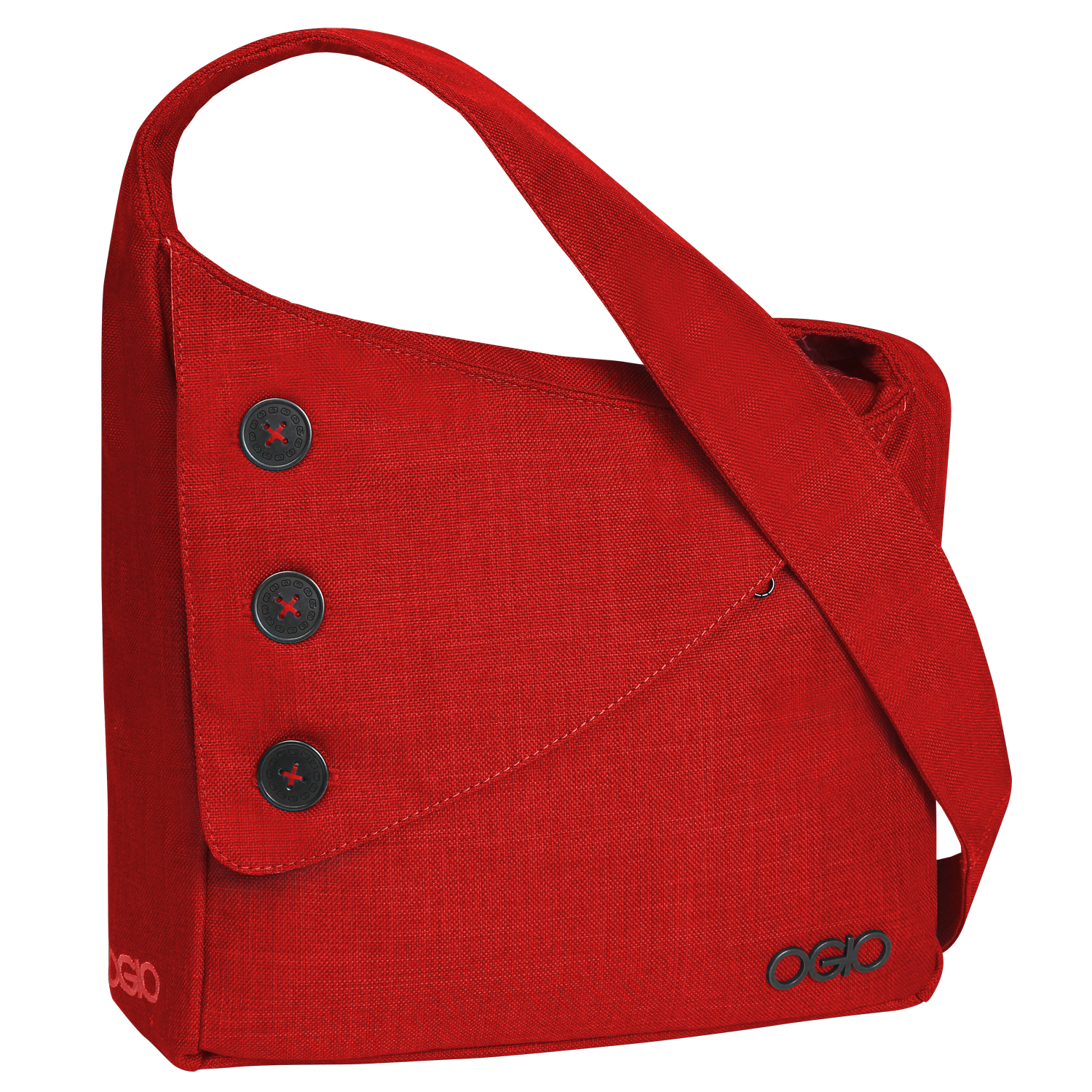 Red women bag PNG image