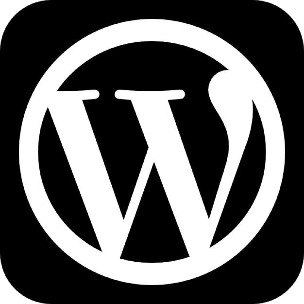 WordPress logo PNG