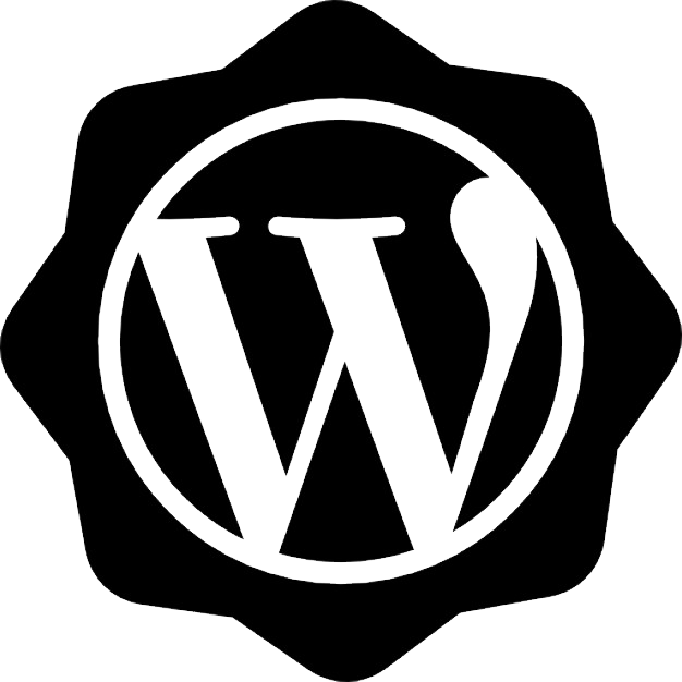 WordPress logo PNG image with transparent background