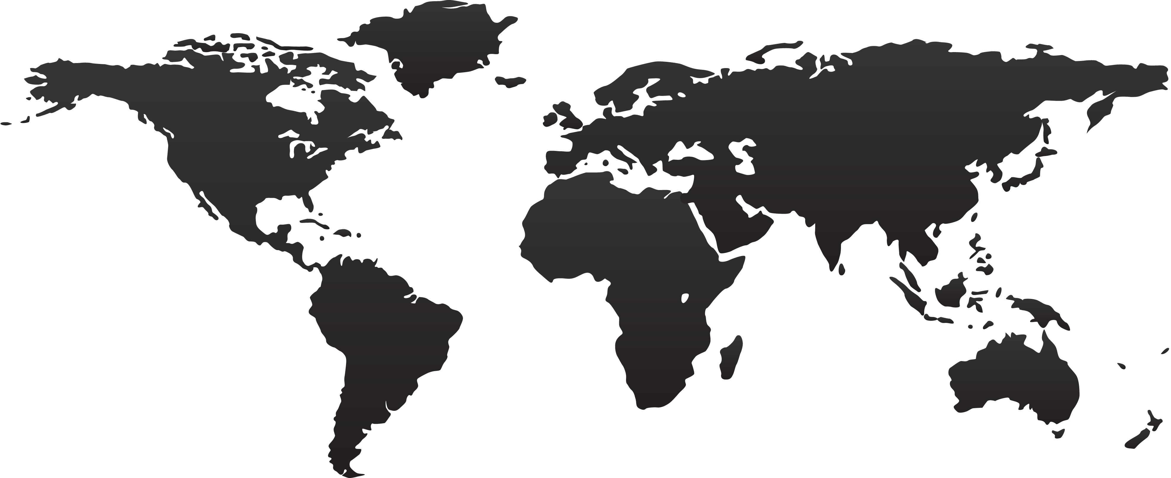 World map PNG image free Download